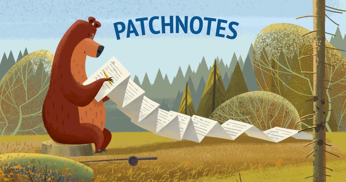 Patchnotes 26/11/2020